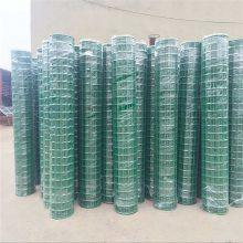 养鸡厂用铁丝网 浸塑3.0毫米粗养鸡围栏网价格