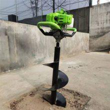 便携式植树挖坑机 富兴汽油手提式钻孔机