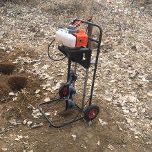 手提式汽油植树便携式打眼机 富兴 轻便挖坑机 汽油打孔机