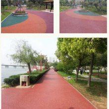 陕西透水混凝土地坪 上海桓石地坪透水混凝土彩色路面材料 全国发货