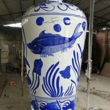 热销玻璃钢带公仔头套卡通先生女士仿青花瓷仿陶瓷树脂雕塑贵州厂家