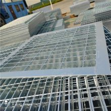 大量【热镀锌麻花钢钢格板 污水处理沟盖板 平台走道】图片