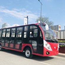 厂家直销好利HL256定制 11座电动游览观光车 四轮电动观光车 景区电瓶车