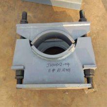 Z1管夹固定支座 合金材质带管夹固定支座 齐鑫 弹簧支吊架配件