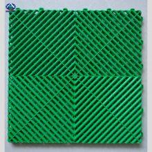可拼装展会塑胶地板 拼接格栅的尺寸颜色 红色高分子格栅价格 河北华强