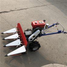 小型玉米秸秆收割机 侧放新款收割机 水稻收割机
