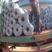 旺来不锈钢刺绳 镀锌刺绳生产 铁蒺藜防护网