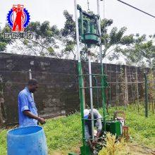 巨匠 供应小型全自动电动水文地质水井钻机 家庭用小型电动打井机 民用回转式钻机