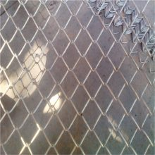 旺来pvc勾花网 镀锌勾花网规格 运动场围网价格