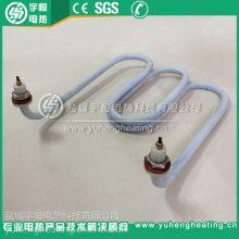 厂家设计生产耐强酸强碱电加热管 防腐蚀特氟龙聚四氟乙烯加热管