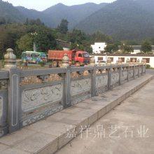 汉白玉石雕防护栏 定做各种工艺石材栏杆 山东石头护栏