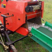 黑麦草新型包膜打捆机 青饲料青贮打捆机