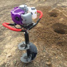 宏兴牌植树挖坑机 小型挖坑机 便携式打窝机