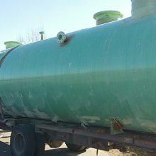 荆州肉制品地下串联沼气工程——50方地埋式生活污水处理设备一体化污水泵站批发商