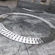 【金聚进】专业做不锈钢泳池地沟格栅板,泳池钢格板供应