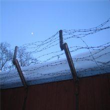 旺来刺绳防护网 刺丝网厂家 刺绳铁丝网
