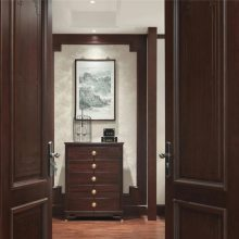 长沙原木家具定制厂家工期短原木鞋柜、衣柜定制专业设计