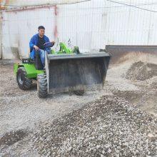 中首重工电动小铲车专业设计,卸载高度1.7米,四川厂家直销