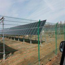 长沙围墙护栏网 篮球场防护网 支架护栏网焊接浸塑钢笆片厂家优盾