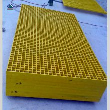 直销50厚地沟格栅板 变压器四周玻璃钢格栅盖板 河北华强价格