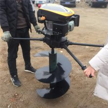 启航牌打桩转眼机 大直径挖坑机 新型拖拉机打洞机