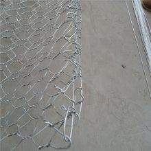 旺来镀锌石笼网箱 石笼网价格 金属六角网