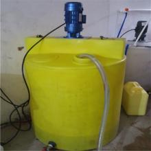 厂家直销 廊坊1000L塑料搅拌桶 河北洗洁精搅拌罐 pe加药箱