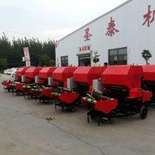 3-5吨智能青贮饲料打包机 云南销售圣泰牌青贮打包机 ST5552A型