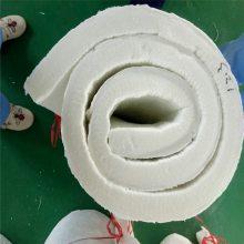 国美硅酸铝双面针刺毯颜色皎白、标准规整