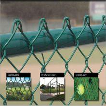 旺来篮球场护栏 球场围栏厂家 热镀锌勾花网