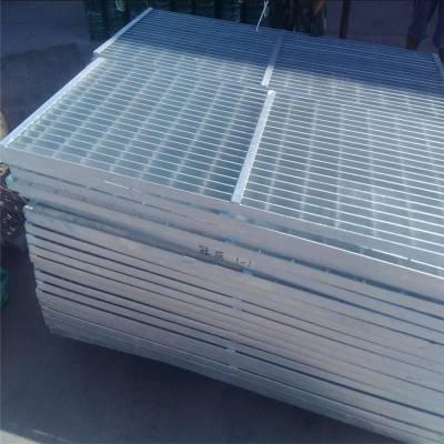 旺来镀锌钢格栅板厂家 格栅板型号 洗车网格板
