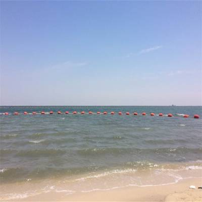 赛龙舟专用塑料浮球 海上浴场警示浮体 海上安全区域警示浮标