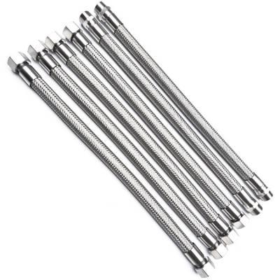 供应DN125 PN1.0水泵法兰式金属软管 316L不锈钢耐腐蚀金属软管