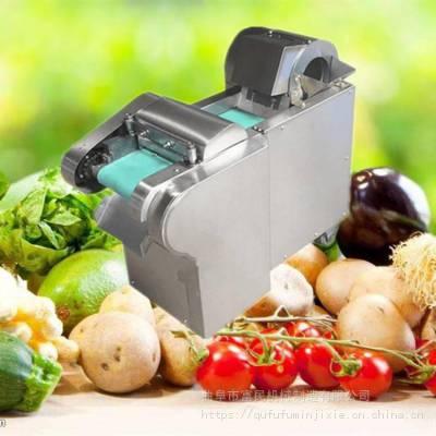 饭店专用切菜机 富民牌全自动土豆切菜机