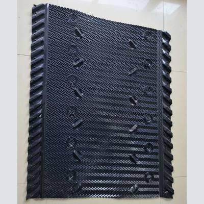 带进风窗的1220mm*1442马利填料 PVC导流散热收水淋水片 华强