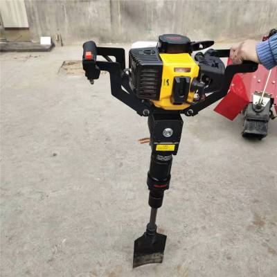 汽油挖树起苗机 大马力挖树机 链条式挖树机