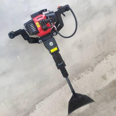 启航牌 手持式汽油移栽机 大功率锯齿式起树机 断根移栽挖树机