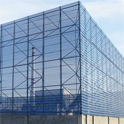 旺来双层防风抑尘网 钢板网冲孔网 冲孔网系列