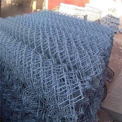 勾花铁丝网 勾花围栏 篮球场隔离栅