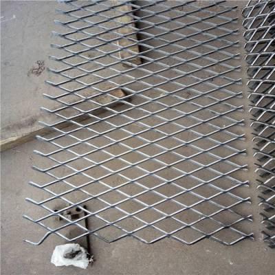 重型钢板网 平台钢板网 菱形钢笆片 承重量好