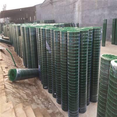 塑料皮养殖铁丝网 2米浸塑养鸡围护荷兰网