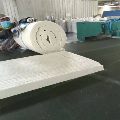 国美硅酸铝针刺毯是人们常用的保温和防火材料