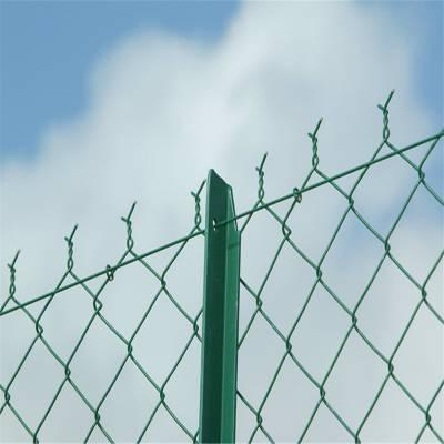 旺来羽毛球场围栏网 护栏勾花网 铁丝网勾花网