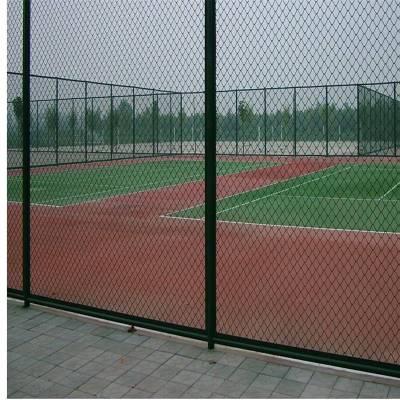 勾花护网价格 涂塑勾花护栏网 球场护栏网