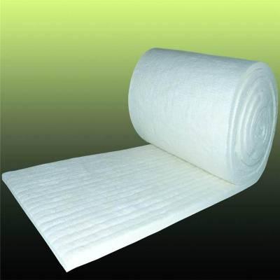 国美纯白色标准型硅酸铝双面针刺毯价格